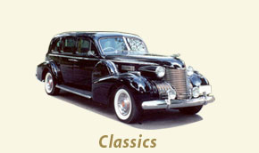 Classic cars for rent at Classic Wedding Car, Chicago