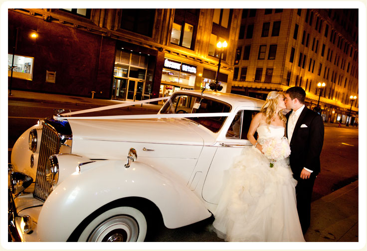 Classic Car Rental For Wedding Chicago