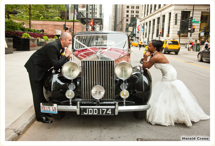 Classic Wedding Car 1948 Rolls Rental