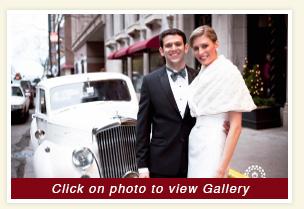 Wedding Photo Gallery Of Luxury Rental Wedding Car 1954