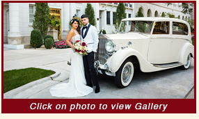 1936 Rolls Royce Wraith Limousine Great Gatsby antique wedding car rental