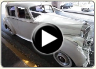 Wedding videos of white Bentley wedding cars