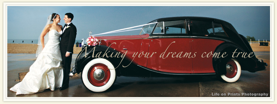 Classic Wedding Car, Chicago, Raves, Reviews, Testimonials, Antique Wedding rental Rolls Royce, Bentley, Limos, Buses.
